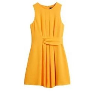 Adelyn Rae Tailya Pleated Fit and Flare Dress